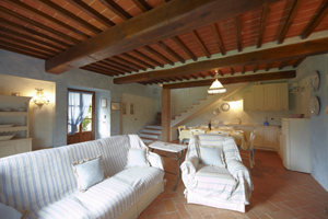 Апартаменты в Тоскане на вилле