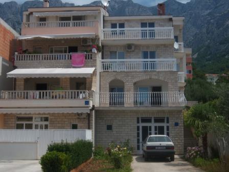 Апартаменты 9353 Макарска, Хорватия
